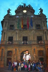 Akordeolari en la Plaza del Ayuntamiento